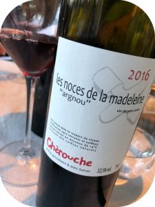 2016 Domaine de Chèrouche, Les Noces de la Madeleine, Valais, Schweiz
