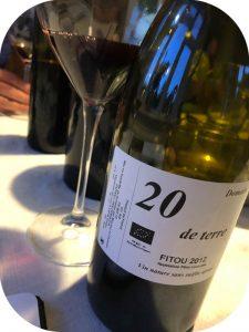 2012 Domaine La Garrigo, Fitou 20 de Terre, Languedoc, Frankrig