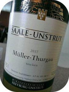 2017 Winzervereinigung Freyburg-Unstrut, Müller-Thurgau, Saale-Unstrut, Tyskland