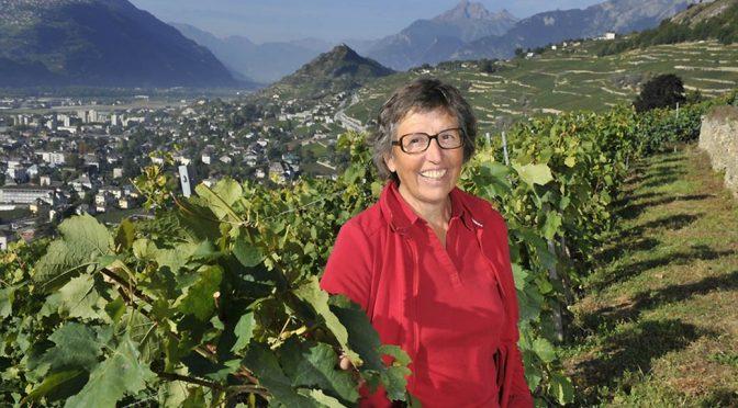 2016 Marie-Bernard Gillioz, Cornalin, Valais, Schweiz