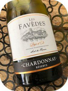 2017 Les Vignerons du Narbonnais, Les Favèdes Chardonnay Réserve Pays d'Oc, Languedoc, Frankrig