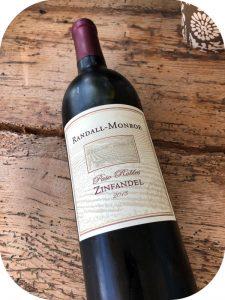 2013 Purple Wine Company, Randall-Monroe Passo Robles Zinfandel, Californien, USA