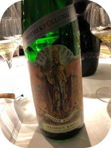 2016 Weingut Emmerich Knoll, Loibner Riesling Vinothekfüllung Smaragd, Wachau, Østrig