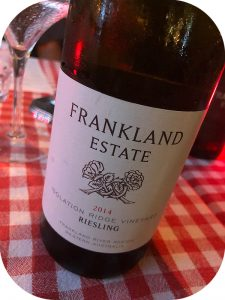 2014 Frankland Estate, Isolation Ridge Vineyard Riesling, Western Australia, Australien