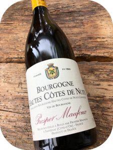 2016 Prosper Maufoux, Bourgogne Hautes Côtes De Nuits, Bourgogne, Frankrig