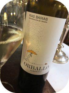 2017 Bodegas La Val, Orballo Albariño, Rías Baixas, Spanien