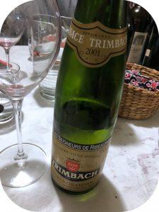 2001 F. E. Trimbach, Gewurztraminer Cuvée des Seigneurs de Ribeaupierre, Alsace, Frankrig