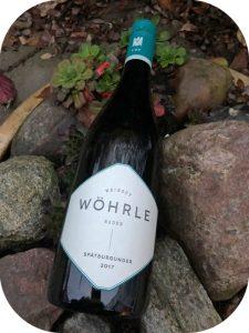 2017 Weingut Wöhrle, Spätburgunder, Baden, Tyskland