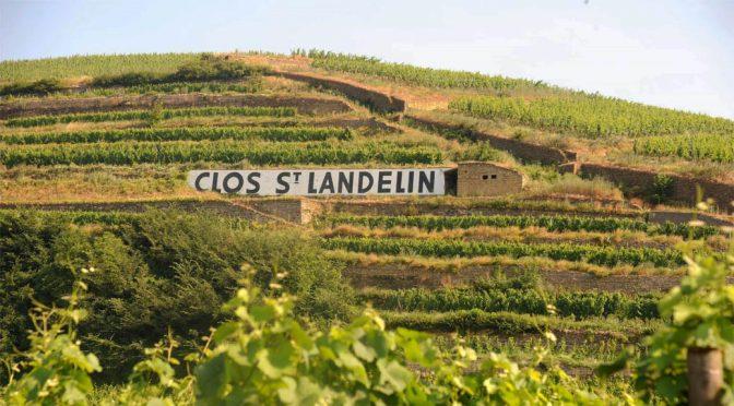 2014 Domaine du Clos Saint Landelin, Riesling Clos Saint Landelin Grand Cru Vorbourg, Alsace, Frankrig