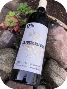 2017 Vignoble Vellas, La Force de l'Age, Roussillon, Frankrig