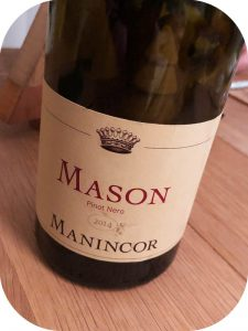 2014 Weingut Manincor, Mason Pinot Nero, Alto Adige, Italien