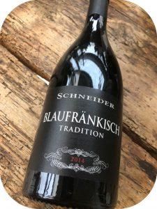 2014 Weingut Markus Schneider, Blaufränkisch Tradition, Pfalz, Tyskland