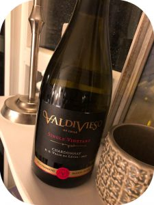 2017 Viña Valdivieso, Chardonnay Single Vineyard, Leyda Valley, Chile