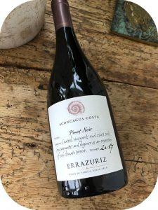 2017 Viña Errazuriz, Aconcagua Costa Pinot Noir, Aconcagua Valley, Chile
