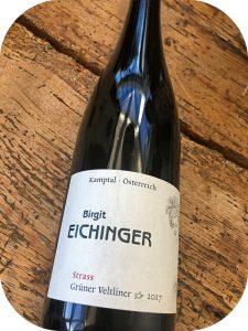 2017 Weingut Birgit Eichinger, Grüner Veltliner Strass, Kamptal, Østrig
