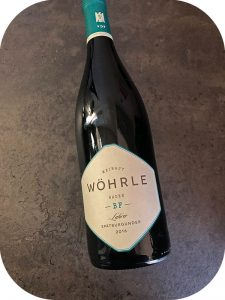 2016 Weingut Wöhrle, Lahrer Spätburgunder Bestes Fass, Baden, Tyskland
