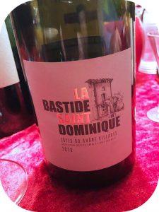 2016 La Bastide Saint-Dominique, Côtes du Rhône Villages, Rhône, Frankrig