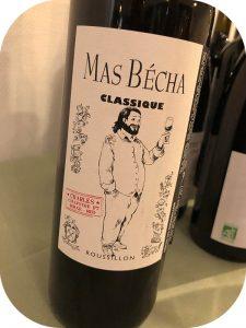 2017 Mas Bécha, Classique Rouge Charles, Roussillon, Frankrig