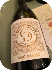 2015 Château Gilbert & Gaillard, Roc Blanc Saint-Chinian, Languedoc, Frankrig