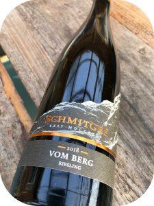 2018 Weingut Schmitges, Riesling vom Berg Feinherb, Mosel, Tyskland