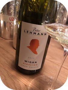 2010 Peter Lehmann, Wigan Riesling, Eden Valley, Australien
