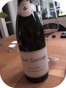 2012 Weingut Chat Sauvage, Lorcher Kapellenberg Pinot Noir, Rheingau, Tyskland