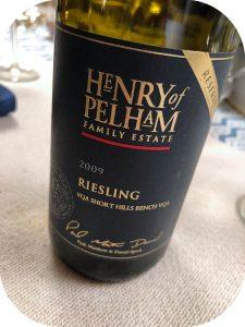 2009 Henry of Pelham Family Estate, Riesling Reserve, Ontario, Canada