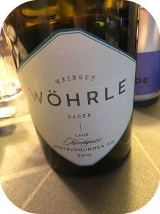 2016 Weingut Wöhrle, Lahrer Kirchgasse Spätburgunder GG, Baden, Tyskland