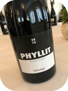 2014 Weingut Solveigs, Pinot Noir Phyllit, Rheingau, Tyskland
