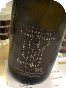 2012 Louis Nicaise, Extra Brut Premier Cru, Champagne, Frankrig