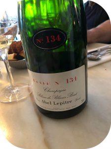 N.V. Abel Lepitre, Cuvée No 134 Blanc de Blancs Brut, Champagne, Frankrig