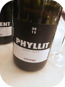 2012 Weingut Solveigs, Pinot Noir Phyllit, Rheingau, Tyskland