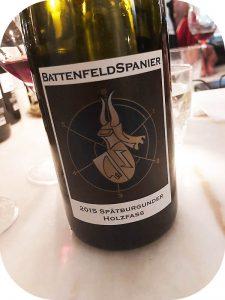 2015 Weingut BattenfeldSpanier, Spätburgunder Holzfass, Rheinhessen, Tyskland