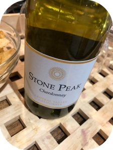 2017 Globus Wine, Stone Peak Chardonnay, Californien, USA