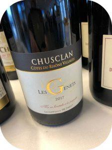 2017 Laudun Chusclan Vignerons, Côtes-du-Rhône Village Les Genets, Rhône, Frankrig