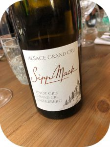 2014 Domaine Sipp Mack, Pinot Gris Grand Cru Osterberg, Alsace, Frankrig