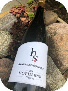 2014 Weingut Hanewald-Schwerdt, Dürkheimer Hochbenn Riesling, Pfalz, Tyskland