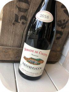 2016 Domaine de Colette, Morgon Tradition, Bourgogne, Frankrig