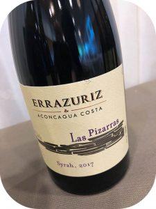 2017 Viña Errazuriz, Las Pizarras Syrah, Aconcagua, Chile