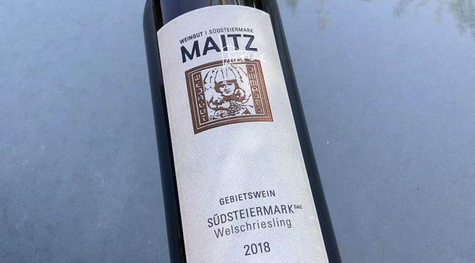 2018 Weingut Wolfgang Maitz, Südsteiermark Welschriesling, Südsteiermark, Østrig