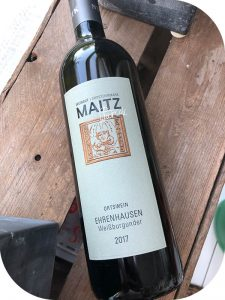 2017 Weingut Wolfgang Maitz, Ehrenhausen Weißburgunder, Südsteiermark, Østrig