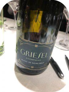 2015 Griesel & Compagnie, Blanc de Noirs Brut, Hessische Bergstrasse, Tyskland