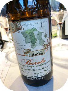 2013 La Biòca, Barolo Bussia, Piemonte, Italien