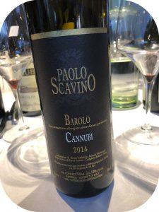 2014 Paolo Scavino, Barolo Cannubi, Piemonte, Italien
