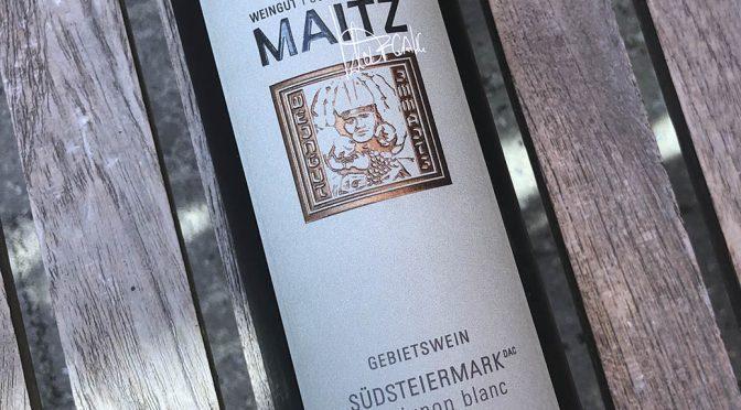 2018 Weingut Wolfgang Maitz, Südsteiermark Sauvignon Blanc, Südsteiermark, Østrig