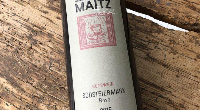 2015 Weingut Wolfgang Maitz, Südsteiermark Rosé, Südsteiermark, Østrig