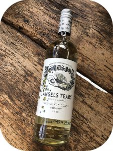 2018 Grande Provence Heritage Wine Estate, Angel Tears Sauvignon Blanc, Western Cape, Sydafrik