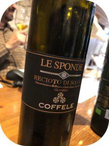2017 Coffele, Recioto di Soave Classico Le Sponde, Veneto, Italien