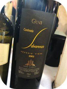 2002 Gini, Soave Classico Contrada Salvarenza Vecchie Vigne, Veneto, Italien