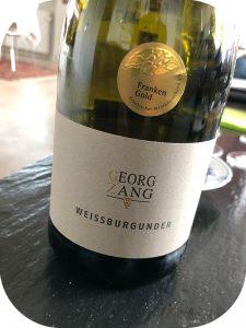 2017 Weingut Georg Zang, Sommeracher Katzenkopf Weißburgunder Spätlese Trocken, Franken, Tyskland
